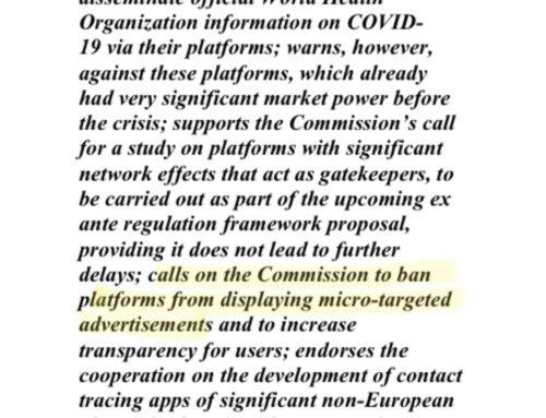 L'Europa vieta la targettizzazione del pubblico nelle ADV di Google e Facebook. Ma è vero?